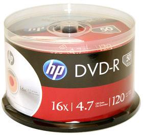 Płyty HP DVD-R 4.7GB x16 - Szpindel - 50szt.