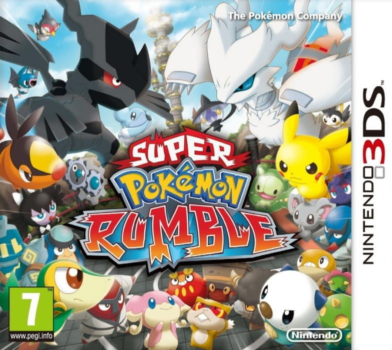 Gra Super Pokemon Rumble (3DS)