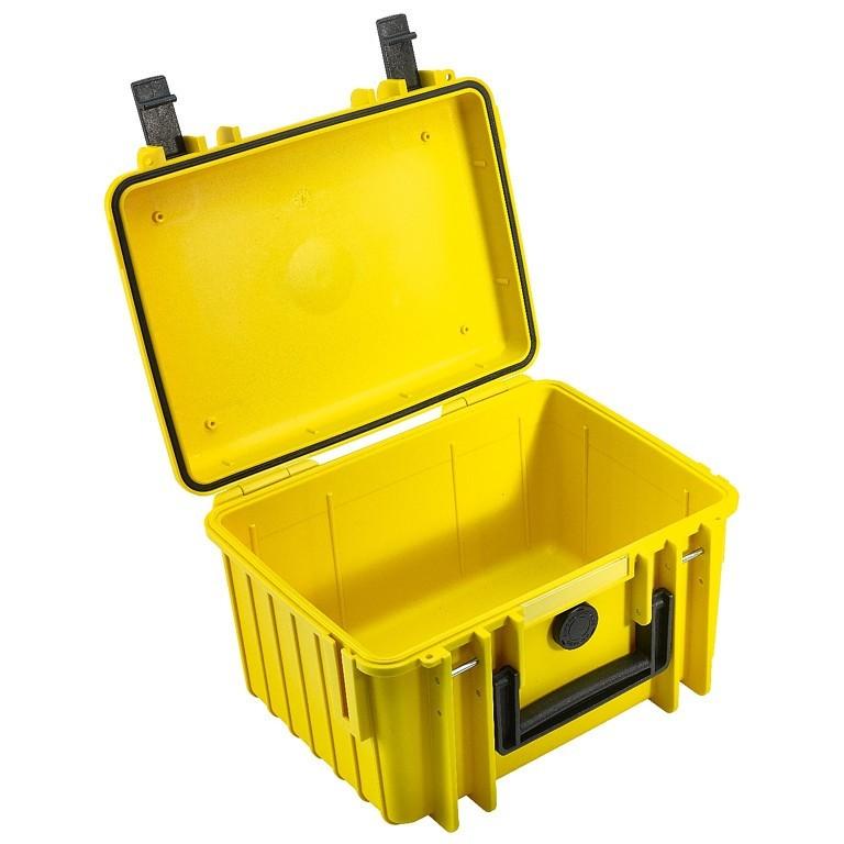 Walizka transportowa B&W outdoor.cases Typ 2000 bez wypełnienia Żółta - WYSYŁKA W 24H
