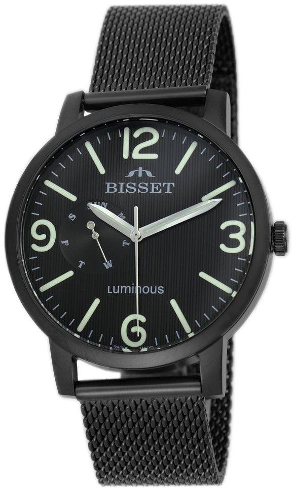 Zegarek Bisset Luminous BSDE72 BMBX 03AX Black