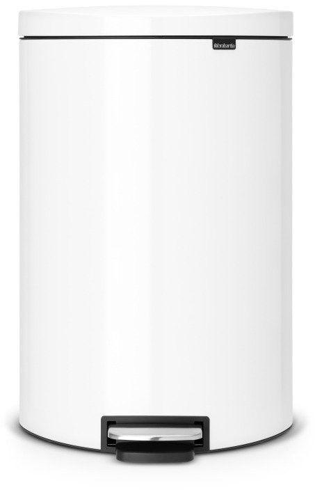 Brabantia - kosz pedałowy ''flatback''  40l - biały