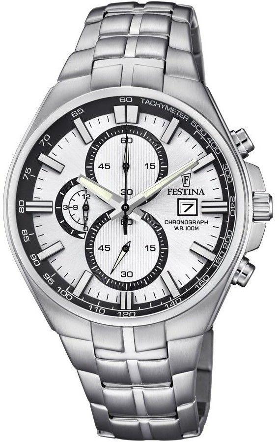 Zegarek Festina F6862-1 Timeless Chronograph - CENA DO NEGOCJACJI - DOSTAWA DHL GRATIS, KUPUJ BEZ RYZYKA - 100 dni na zwrot, możliwość wygrawerowania dowolnego tekstu.