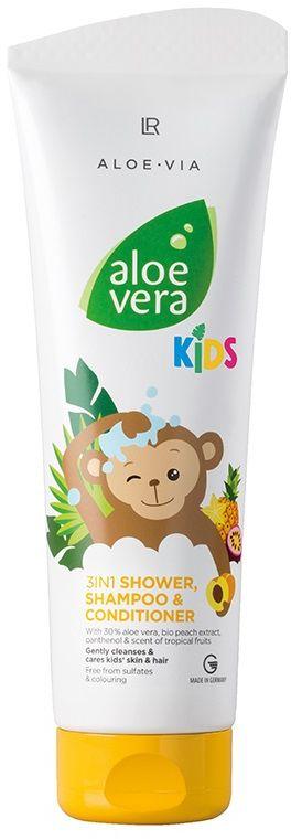 LR ALOE VIA Aloe Vera Kids 3w1 250ml