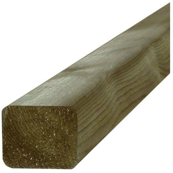 Legar tarasowy drewniany Blooma 2400 x 45 x 70 mm sosna