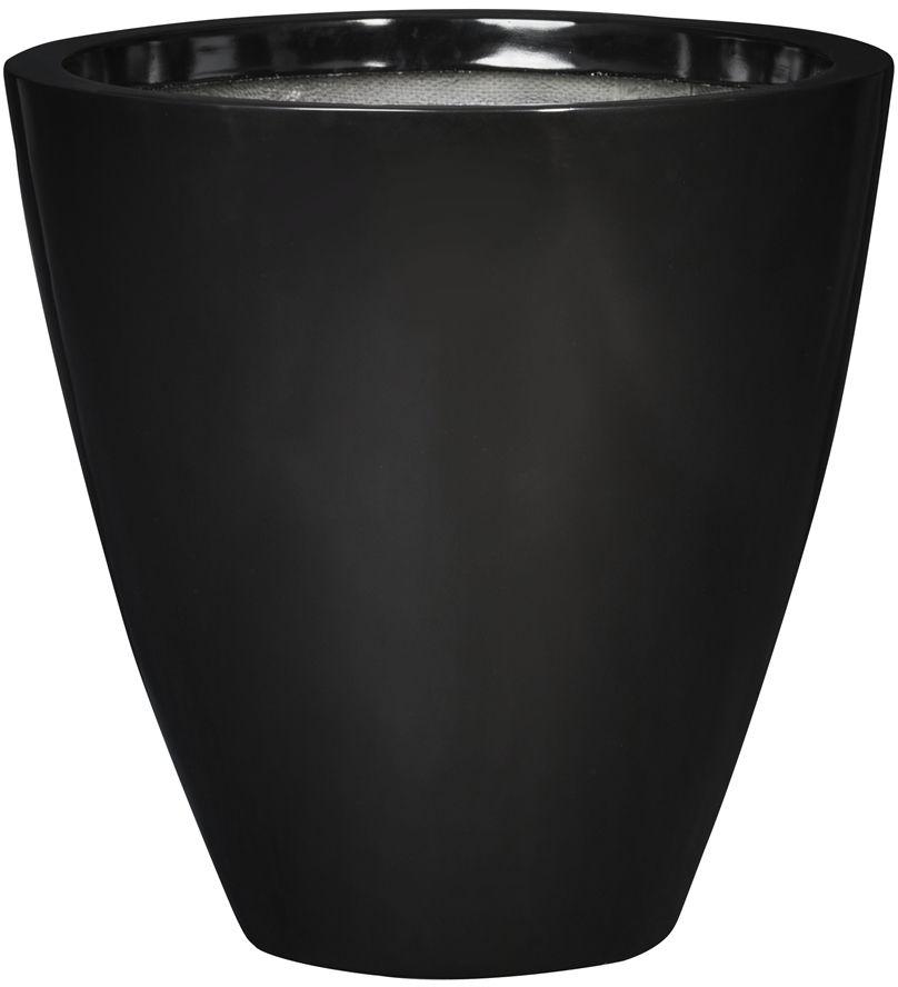 Donica z włókna szklanego D280C czarny połysk