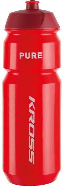 Bidon 0,75L KROSS PURE czerwony