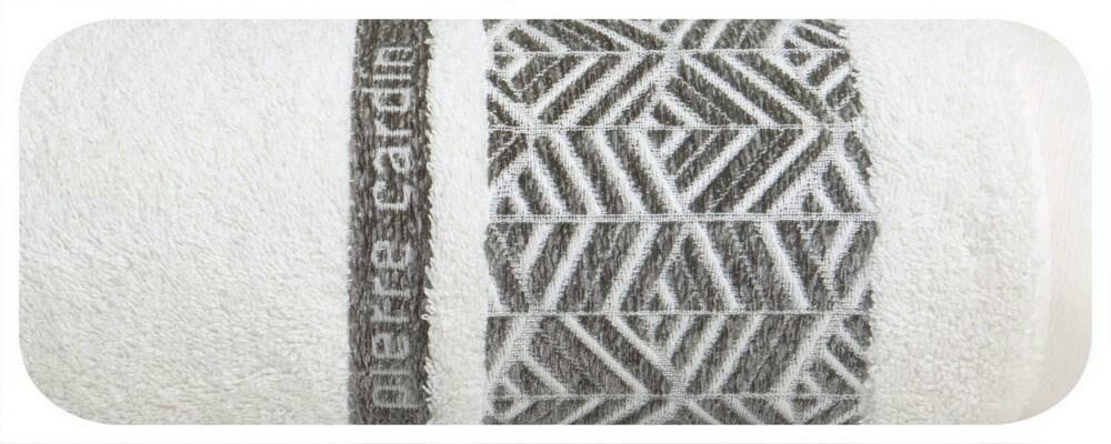 Ręcznik Teo 70x140 kremowy 480g/m2 Pierre Cardin
