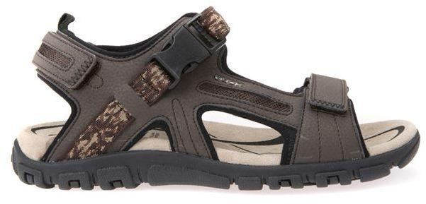 Męskie sandały U SANDAL STRADA EBONY U8224A00050C6027