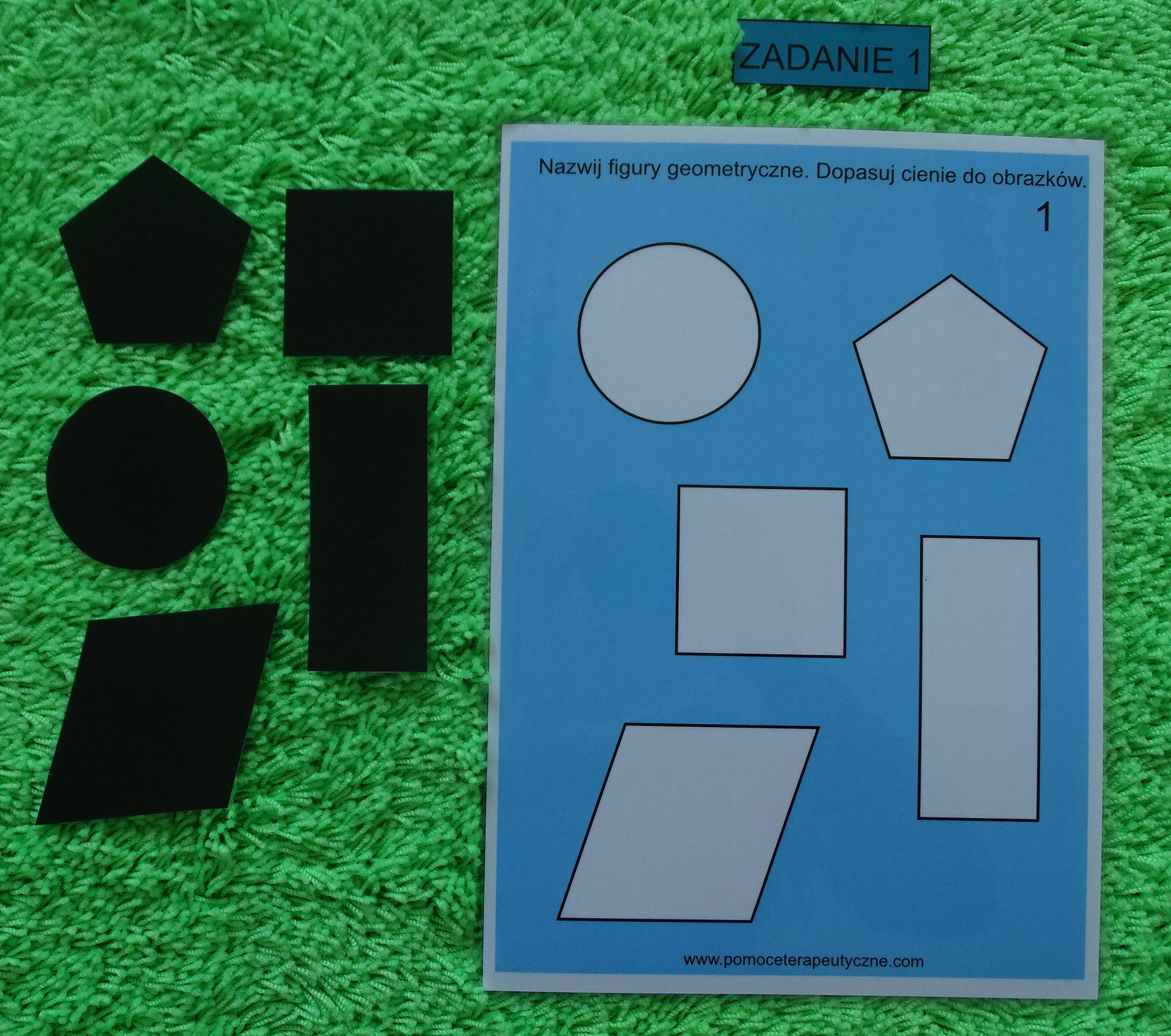 Stwórz własny zestaw terapeutyczny -materiały ćwiczeniowe do segregatora