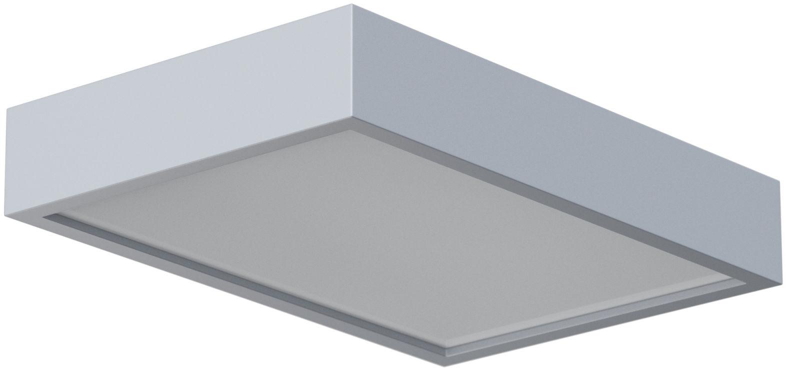 Plafon Belona prostokąt 1303E1E3 różne kolory Cleoni nowoczesna oprawa sufitowa