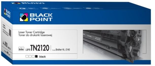 BLACK POINT LBPBTN2120 / TN-2120 (black)