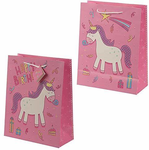 Miss Pretty London Happy Birthday Rainbow Unicorn zestaw upominkowy