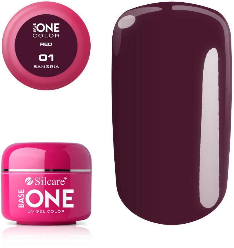 Base One Żel UV Red 5 g