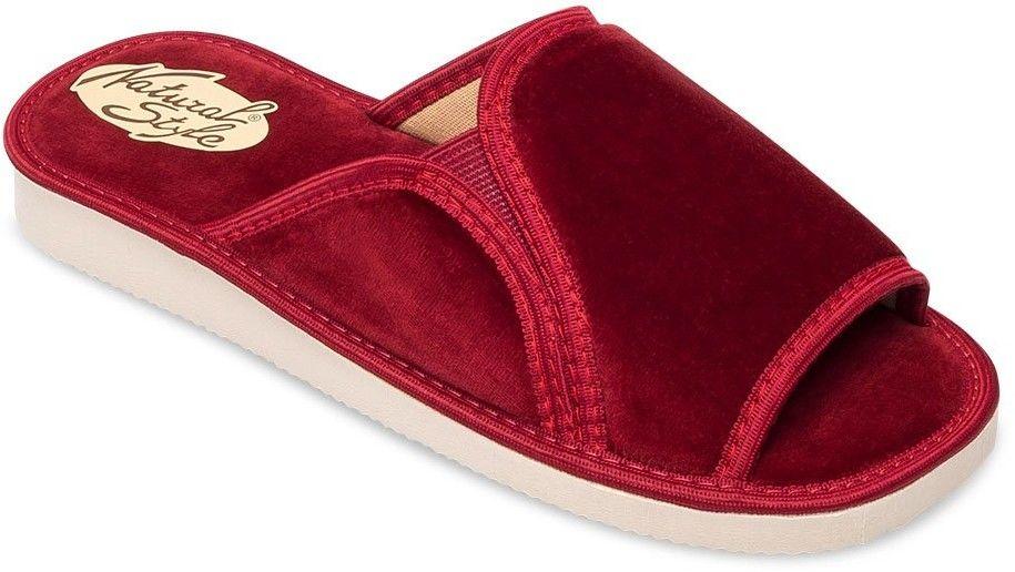 Kapcie damskie Natural Style NS-025 Czerwone