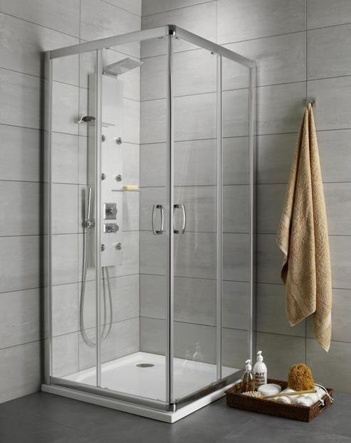 Radaway Premium Plus D Kabina prostokątna 80x90 szkło przejrzyste 30437-01-01N __AUTORYZOWANY_DYSTRYBUTOR__