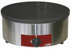 Naleśnikarka gazowa duża moc Ø400mm emaliowana Ø400x(H)200mm
