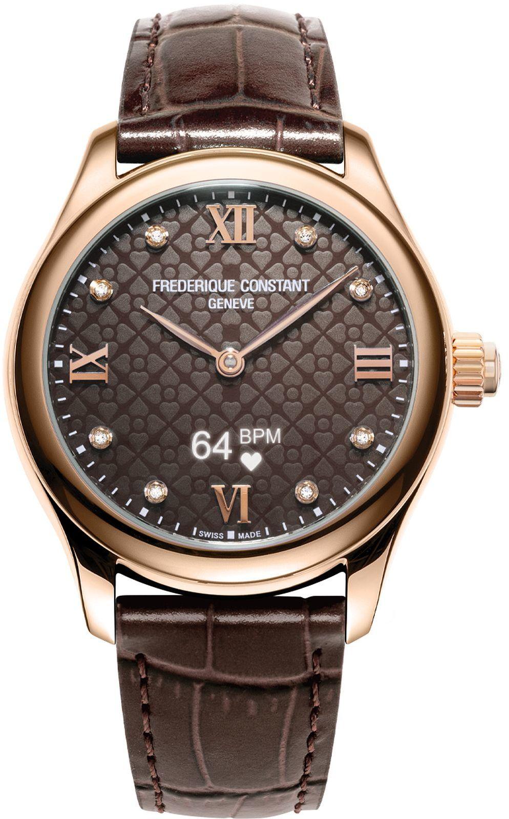 Zegarek damski Frederique Constant Vitality Hybrid Smartwatch