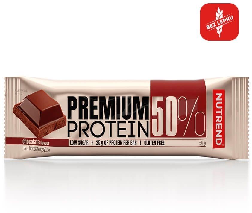 PREMIUM PROTEIN 50 BAR 50g czekolada
