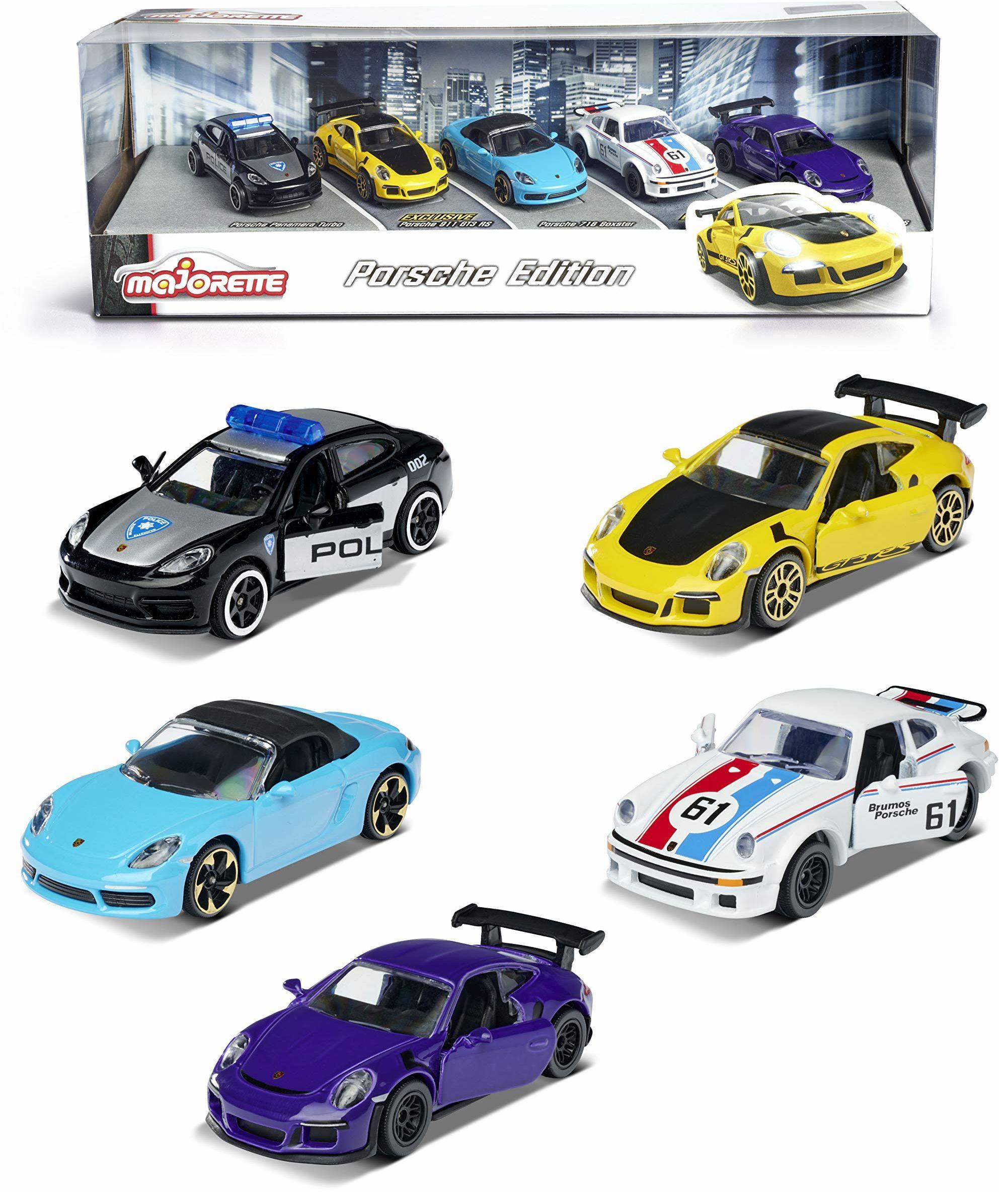 Majorette 212053171 Zestaw Porsche 212053171 5 Szt.