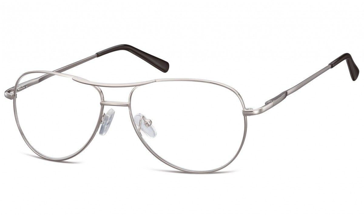 Aviatory zerowki Okulary oprawki metalowe korekcyjne 699A
