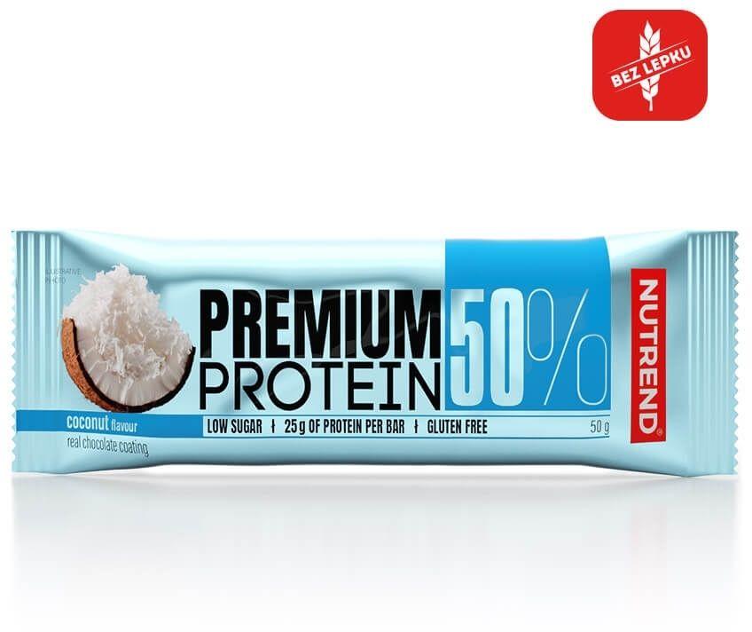 PREMIUM PROTEIN 50 BAR 50g kokos