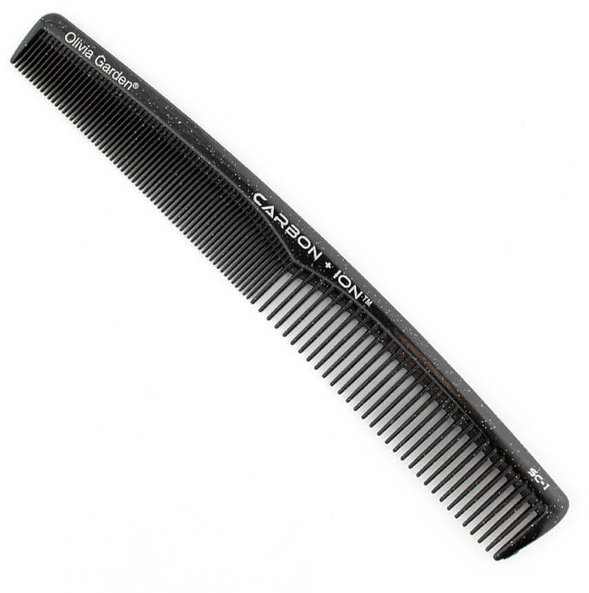Olivia Garden SC1 Carbon + ION Grzebień karbonowy do rozczesywania włosów