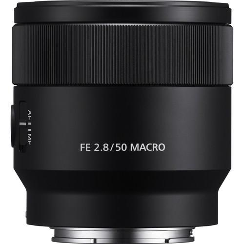 Sony FE 50mm F2.8 Macro - obiektyw stałoogniskowy, SEL50M28 Sony SEL50M28