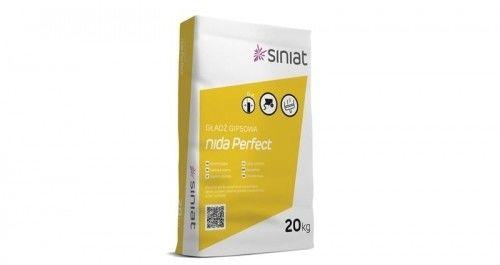 Gładź gipsowa Nida Perfect Siniat 20 kg