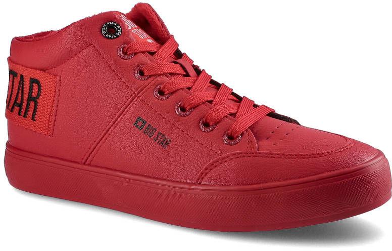 Sneakersy BIG STAR EE274354 Czerwony