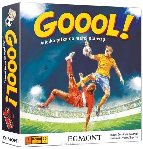 Gra - GOOOL! Wielka piłka na małej planszy - Van Corne Moorsel