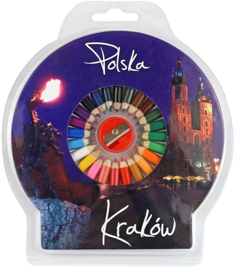 Kredki okrągłe foto Kraków