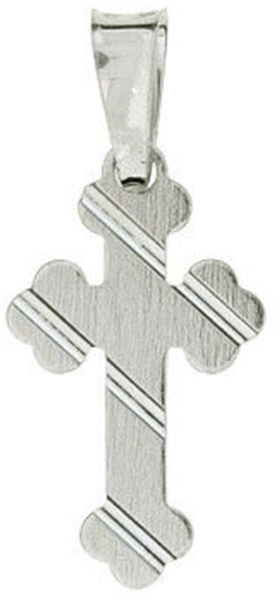 Srebrna przywieszka 925 krzyżyk krzyż ozdobny 1 g