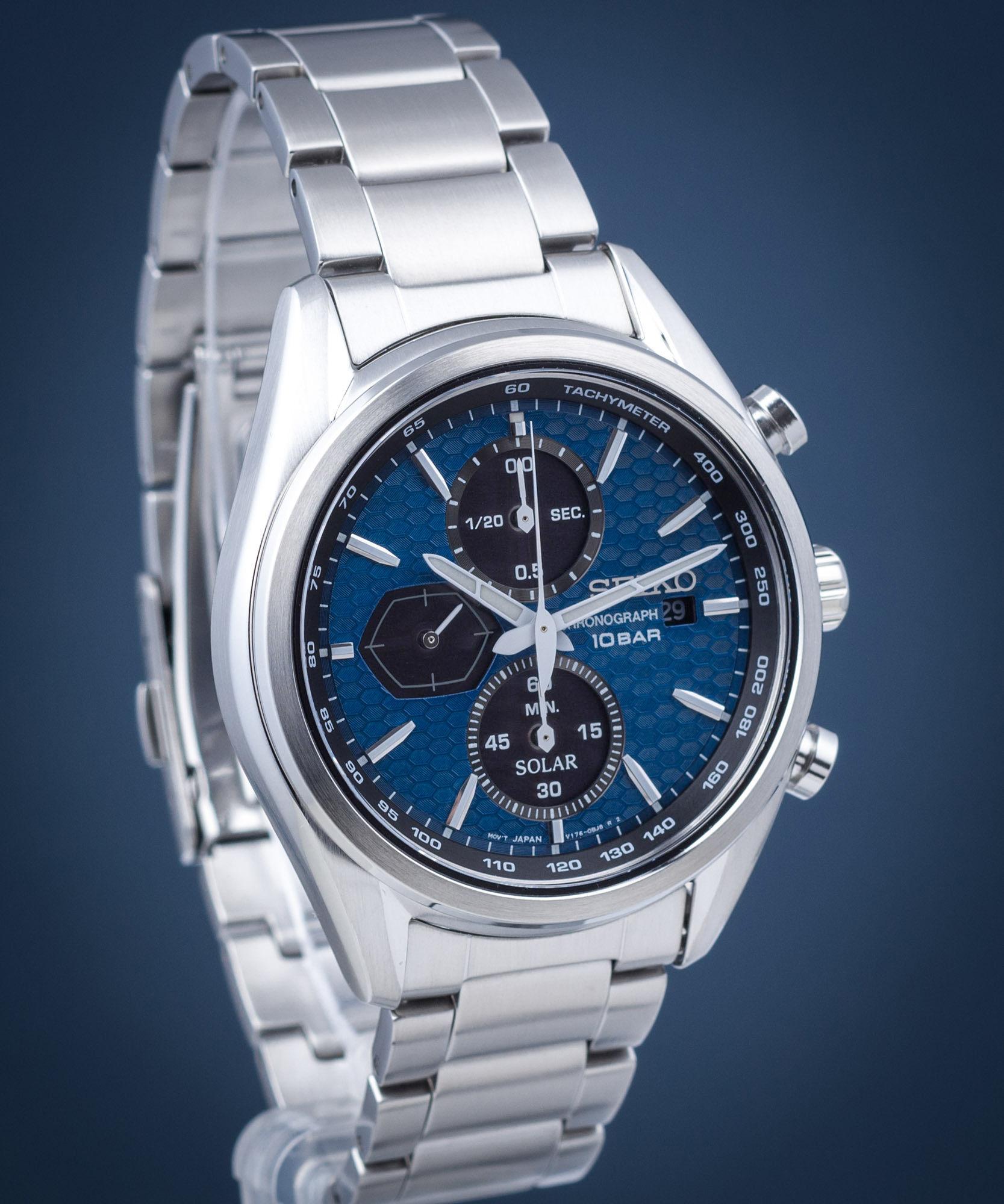 Zegarek męski Seiko Solar Chronograph