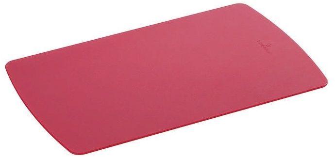 Zassenhaus - easy cut plus - deska do krojenia, 25,00 cm, czerwona