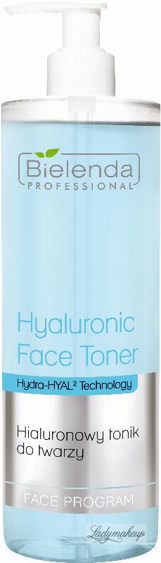 Bielenda Professional - Hyaluronic Face Toner - Hialuronowy tonik do twarzy - 500 ml