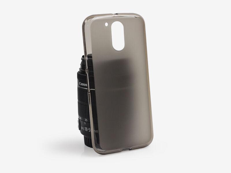 Lenovo Moto G4 Plus - etui na telefon FLEXmat Case - czarny