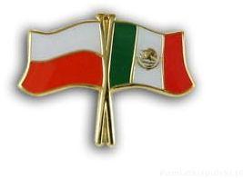 Flaga Polska - Meksyk