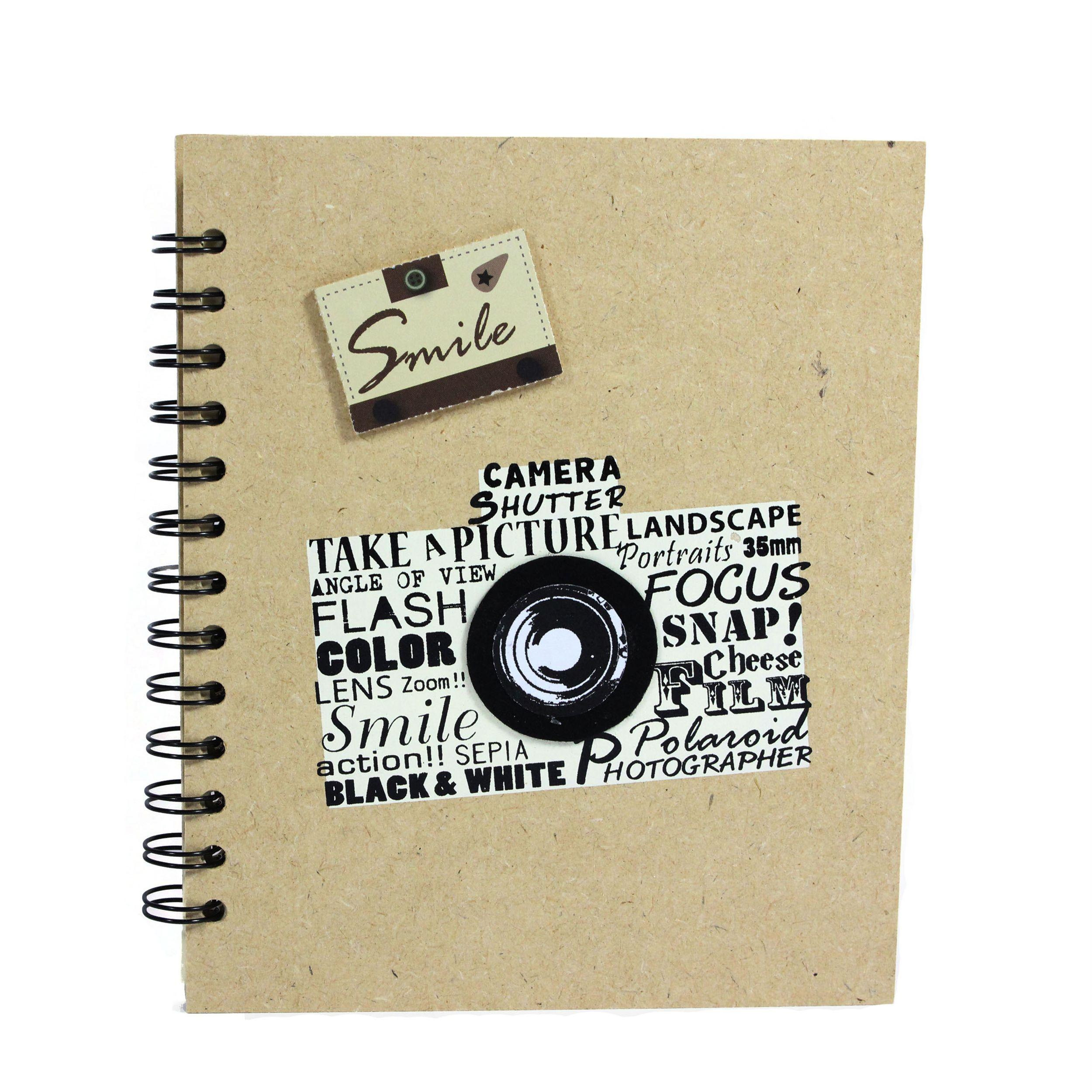 Notes w linię 20x16,5cm biały aparat