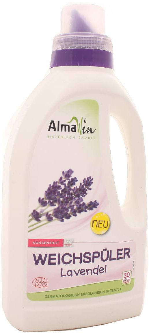 Płyn do płukania i zmiękczania tkanin lawendowy - AlmaWin - 750ml