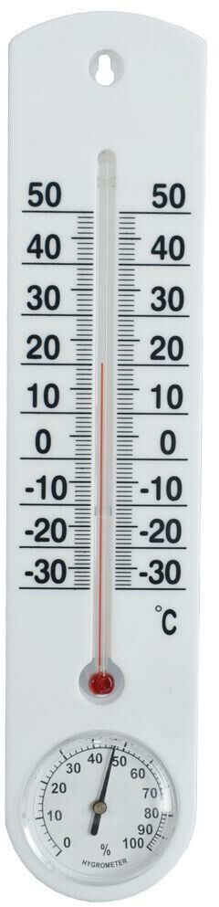 Termometr + higrometr wewnętrzny zewnętrzny