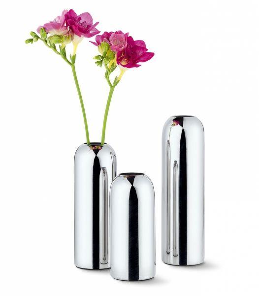 Philippi MILA Wazon do Kwiatów 18 cm Polerowany