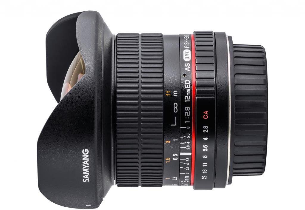 Obiektyw Samyang 12 mm f/2.8 ED AS NCS Fisheye micro 4/3 Wyprzedaż