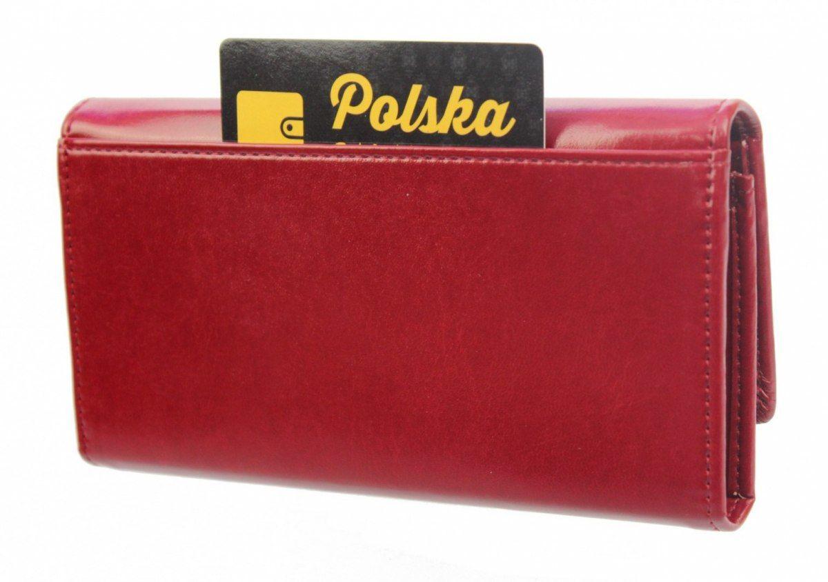 Portfel Damski WILMAR (PL) Suwak 18 cm Skóra Włoska P18S