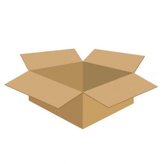 Karton klapowy tekt 3 - 250 x 200 x 100 420g/m2 fala B wym zewnętrzny