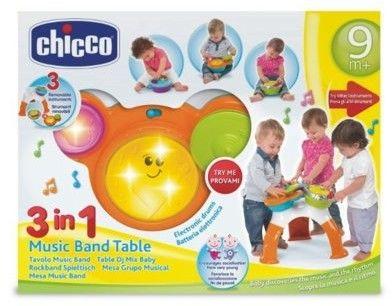 Chicco Aktywny stolik zespołu muzycznego Music Band 3w1
