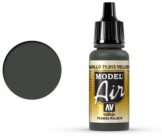 Vallejo Model Air Yellow Olive 71.013