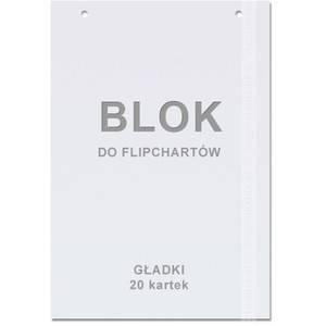 Blok do flipchartu 60x84cm gładki (50) - X09857