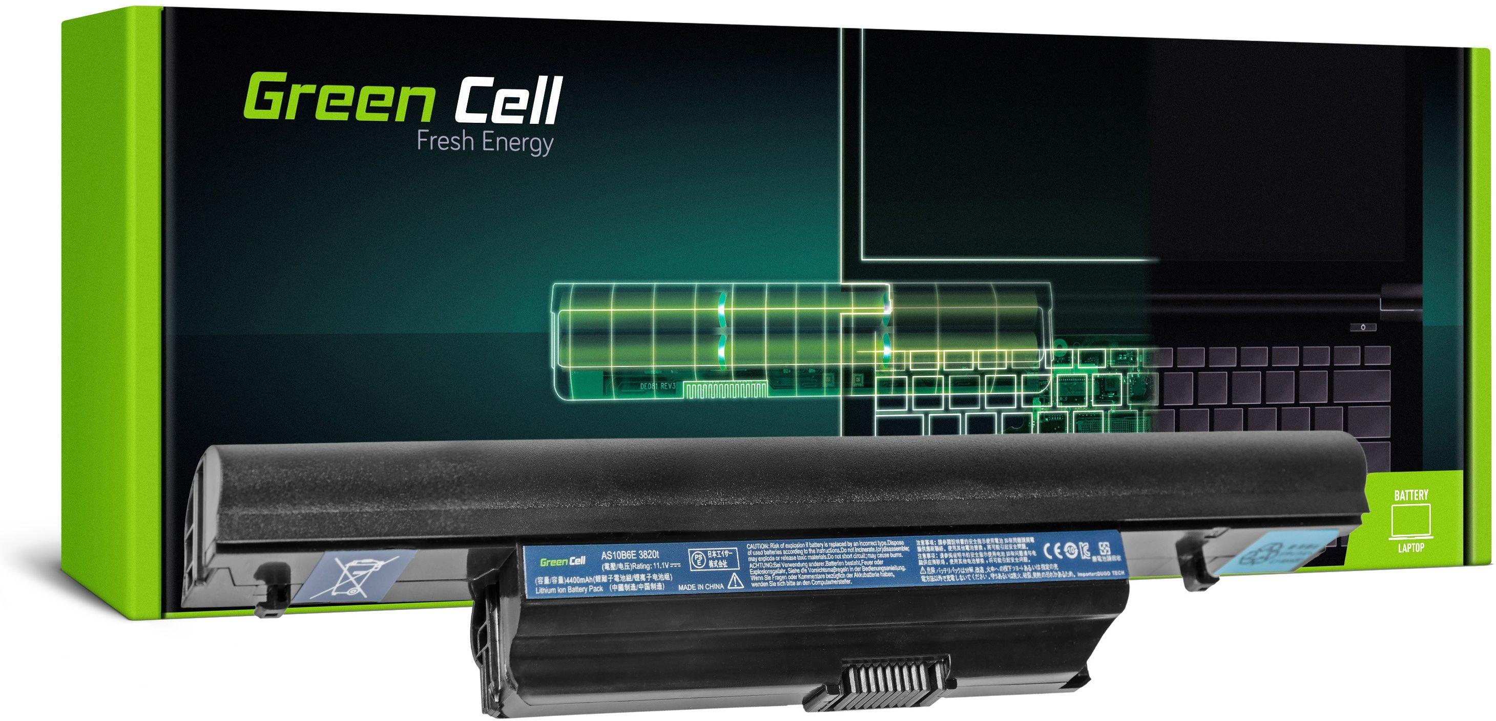 Bateria Green Cell AS10B31 AS10B75 AS10B7E do Acer Aspire 5553 5745 5745G 5820 5820T 5820TG 5820TZG 7739