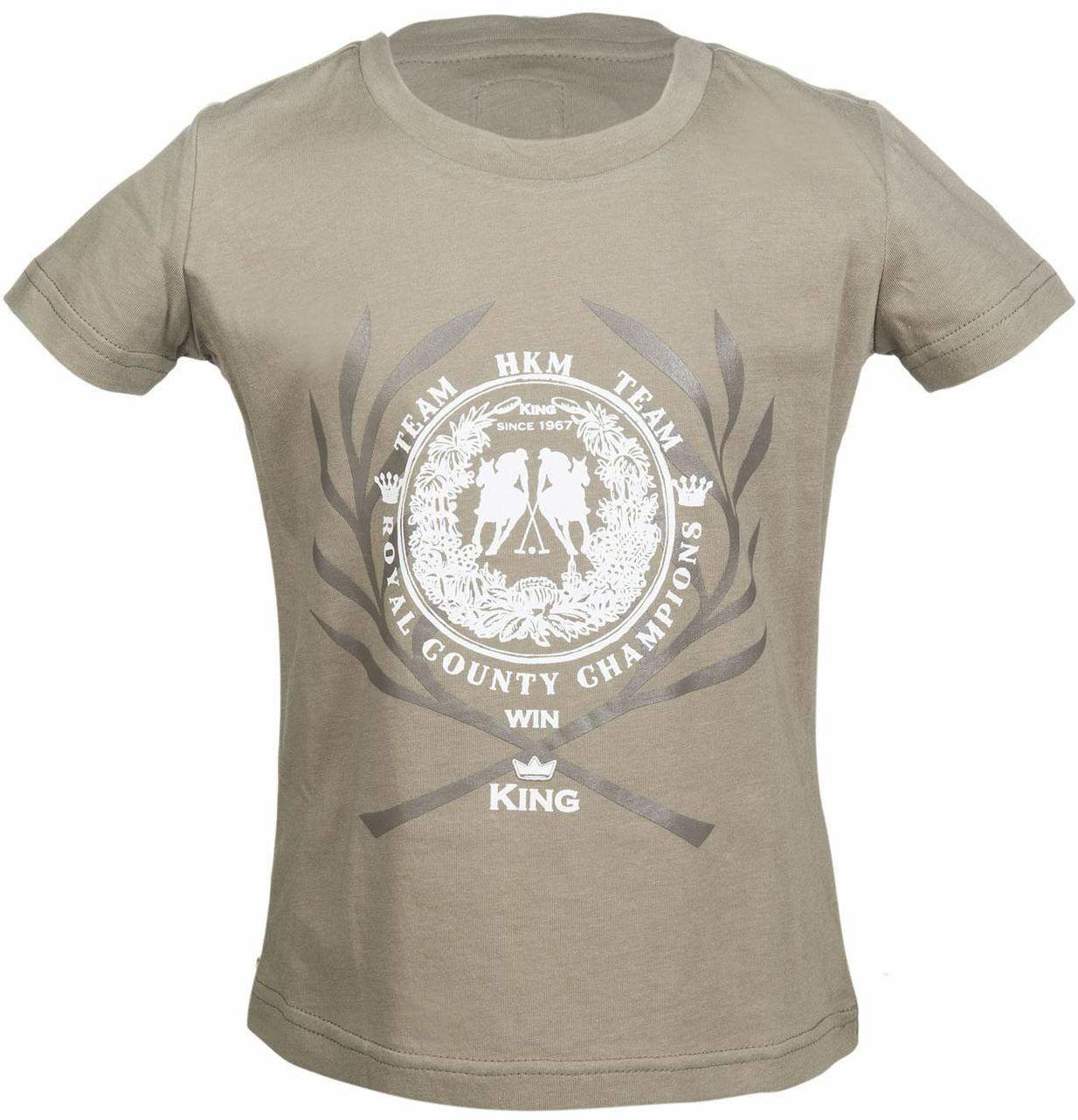 HKM Unisex spodnie T-shirt -San Luis-2500 niebieski 2500 Beige 110-116