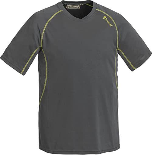 Pinewood Męski t-shirt Activ T-shirt szary szary XXL